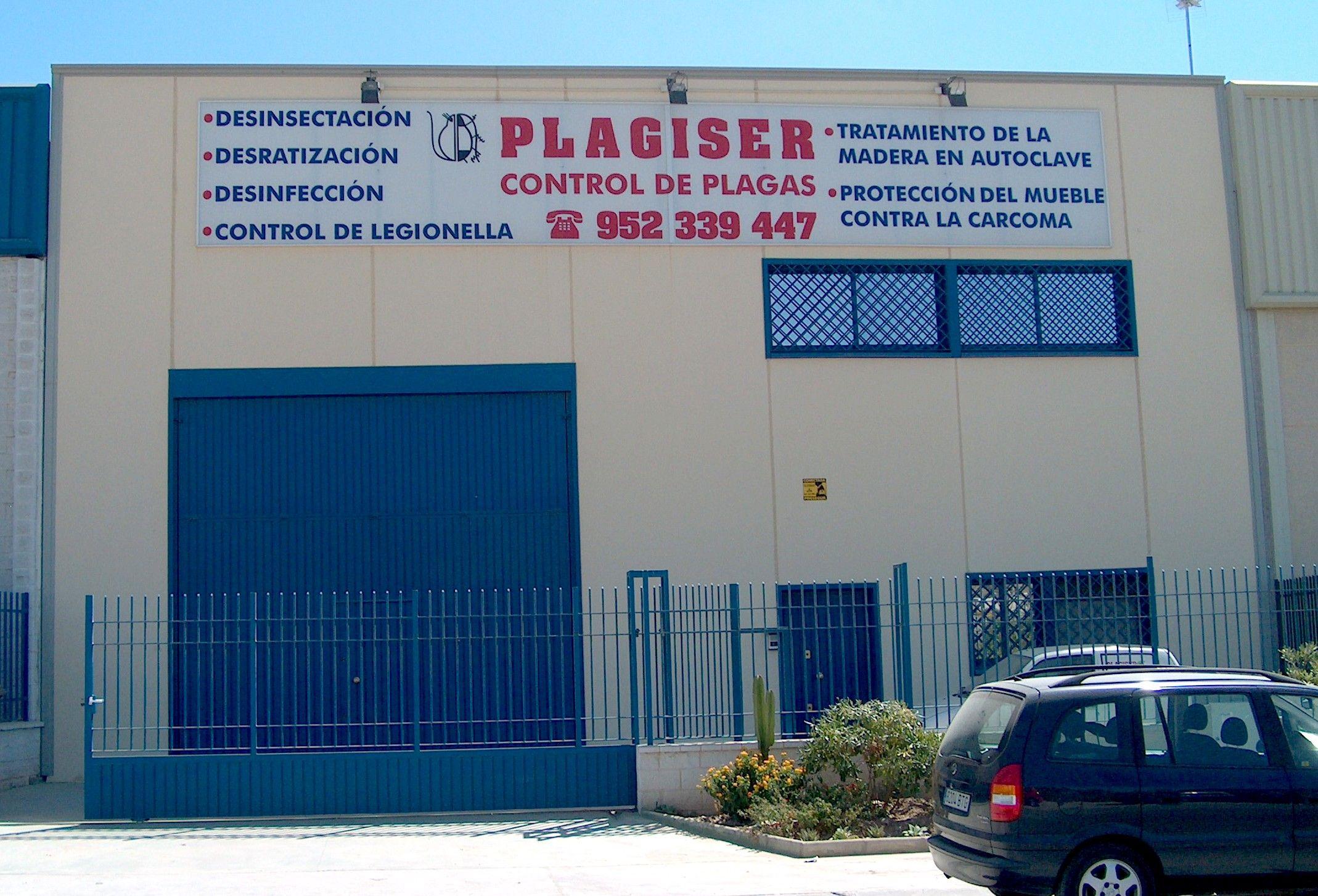 Plagiser m laga empresa para el tratamiento y control de - Empresa jardineria malaga ...